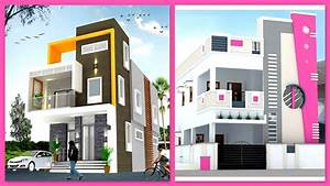 Modern, Two, Storey, House, Front, Elevation, Designs