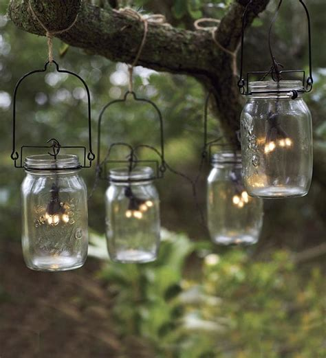 how to make outdoor solar lights glass mason jar solar string lights eclectic outdoor