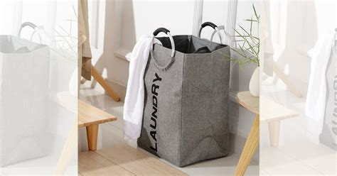 Double Laundry Hamper Only .95 (great For