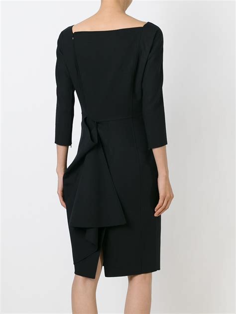 What Is A Boat Neck Dress by Dsquared 178 Boat Neck Dress In Black Lyst