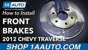 How To Replace Front Brakes 09