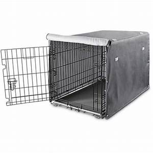 you me dog crate cover in grey petco With shop dog crates