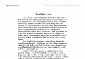 Descriptive Essay Example Place Proposal Essay Template Descriptive  Descriptive Essay Example Place Essay On Deception
