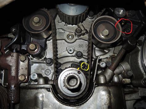 Hyundai Santa Fe Timing Belt Replacement by Hyundai Satnat Fe Im Replacing A Timing Belt On A Santa Fe