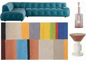 tapis roche bobois elegant tapis graphique bleu u With superior meubles de salon roche bobois 1 composition dangle evidence roche bobois