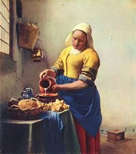 Johannes Vermeer the Milkmaid painting | framed paintings ...