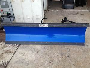 Never Used Winter Wolf Snow Plow With Manual  With Images