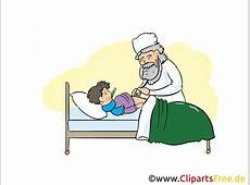 Kind im Krankenhaus Clipart, Bild, Cartoon