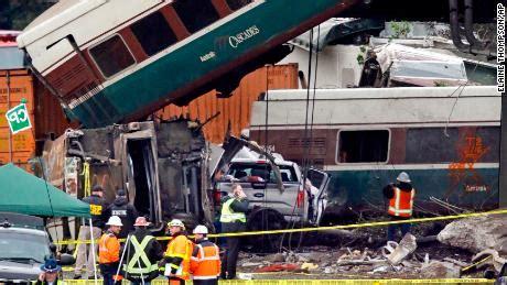 Boat Crash Washington by Amtrak Derailment Two Victims Identified As Rail