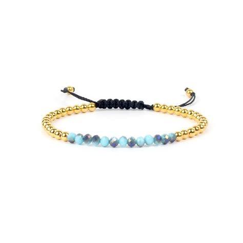bracelet swarovski bleu bracelet cordon swarovski bleu bijoux fantaisie femme