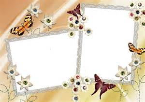 Butterfly Borders and Frames