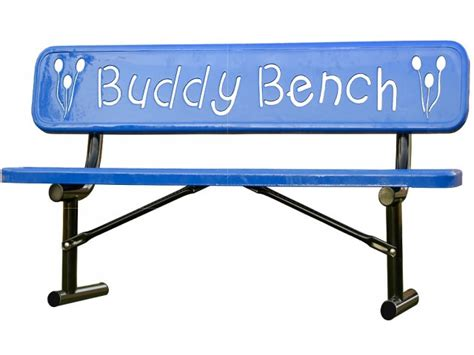 Buddy Bench by Ultrasite Thermoplastic Buddy Bench 8 Upb 948 Outdoor