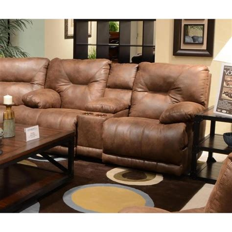 catnapper reclining sofa voyager catnapper voyager power lay flat reclining console