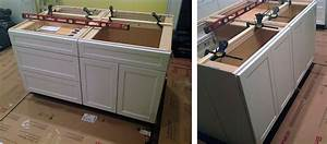 70, Kitchen, Island, From, Stock, Cabinets