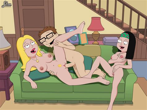 Animation American Dad Francine Steve And Haley By