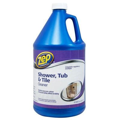 zep 1 gal shower tub and tile cleaner zustt128 the home