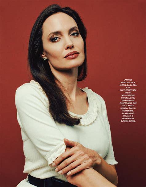 ANGELINA JOLIE in Grazia Magazine, Italy September 2020 ...
