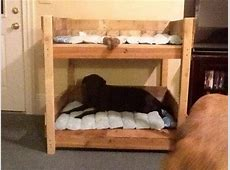 Pet Bed Made of Pallets 101 Pallets