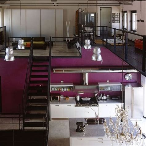 loft moderno  estilo industrial casa web