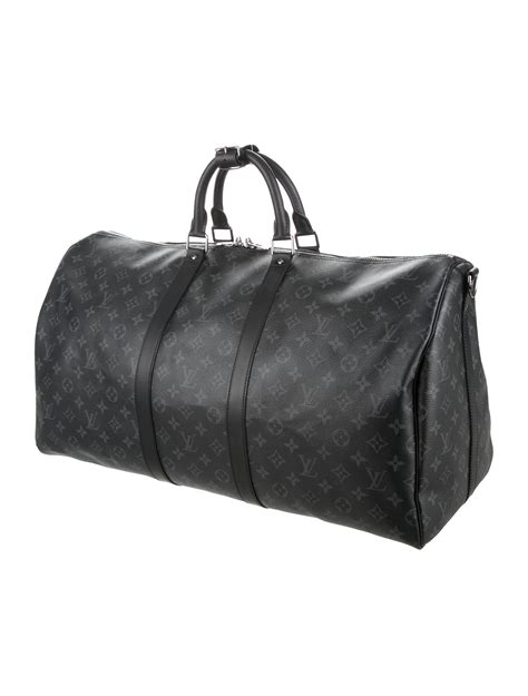 louis vuitton  monogram eclipse monogram keepall