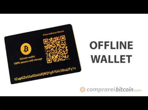 4.2 out of 5 stars 136. Offline Wallet - Bitcoin Educational - YouTube
