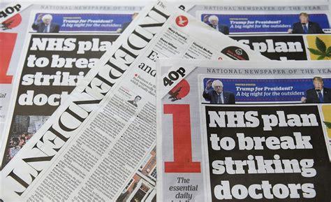 The Independent verdwijnt uit krantenkiosk – Wel.nl