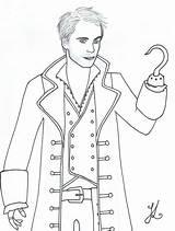 Hook Captain Katsa Lineart Lady Deviantart sketch template