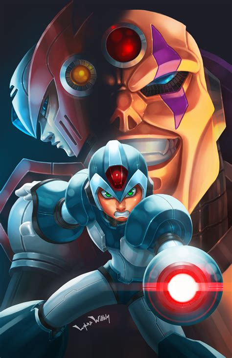 Mega Man Dawn Of X Fan Art Contest P By Lordwilhelm On