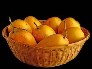 Mangoes, In, Basket, Stock, Photo, Image, Of, Anacarduaceae