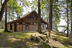 log cabin floorplans mowgli island in the remote southern gulf islands on sale