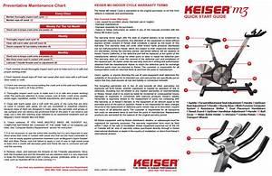 Keiser M3 User Manual