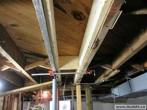 sistering floor joists crawl space chapter 3 serious problems in the basement