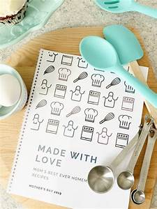 Free Printable Blank Recipe Pages Diy Family Recipe Book Free Template Diy
