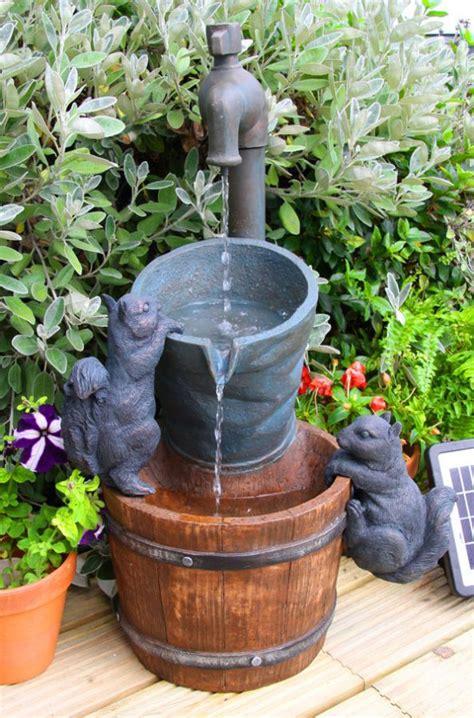 fontaine exterieur solaire fontaine d ext 233 rieur solaire robinet et ecureuils 109 99
