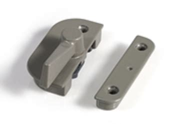 norco double hung single window hardware parts sash lock keeper truth window hardware