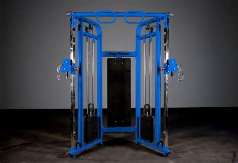 functional trainer commercial blue