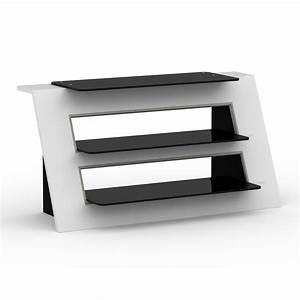 elmob alexa al 110 06 blanc meuble tv elmob sur ldlccom With meuble 06