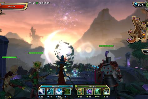 dungeon defenders  emphasizes world building