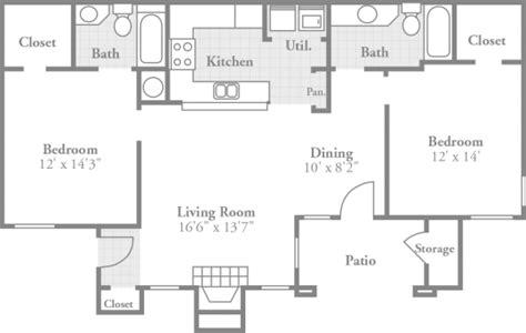 bedroom floor plans crowne oaks stylish apartments