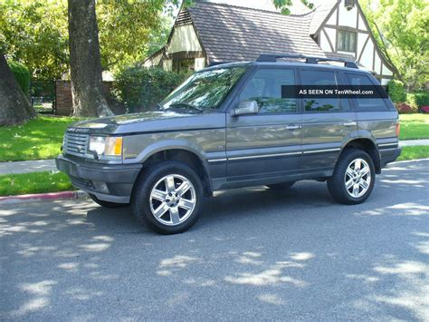 2002 Range Rover Hse by 2002 Range Rover 4 6 Hse Last Year For This Model