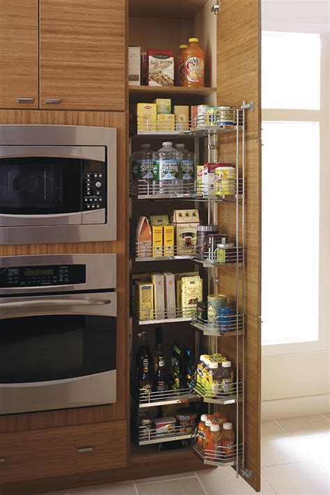 tall pantry pull  tandem cabinet kitchen craft
