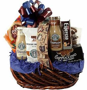 Coffee Gift Basket Coffee Beverage ♠Gifts Coffee Baskets