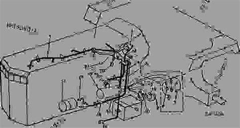 Deere 4250 Wiring Harnes by Left Side Wiring Cluster 4050 006592 4250