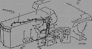 Left Side Wiring  Gauge Cluster   4050