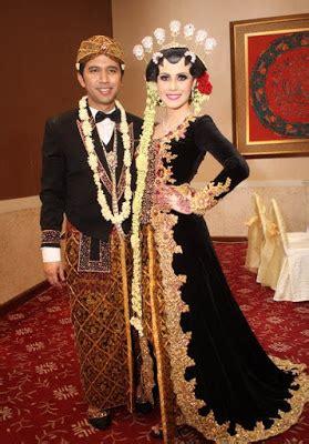 kebaya pengantin artis anggun  elegan gebeetcom