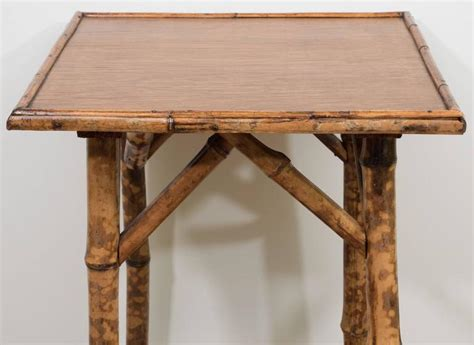 Small Bamboo Table For Sale At 1stdibs