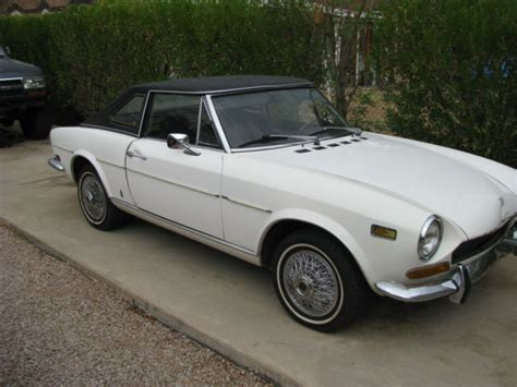 1972 Fiat 124 Spider by 1972 Fiat 124 Sport Spider 1600 Convertible And Hardtop