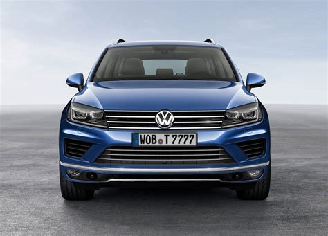 2015 Volkswagen Touareg Facelift Starts From £43k in the ...