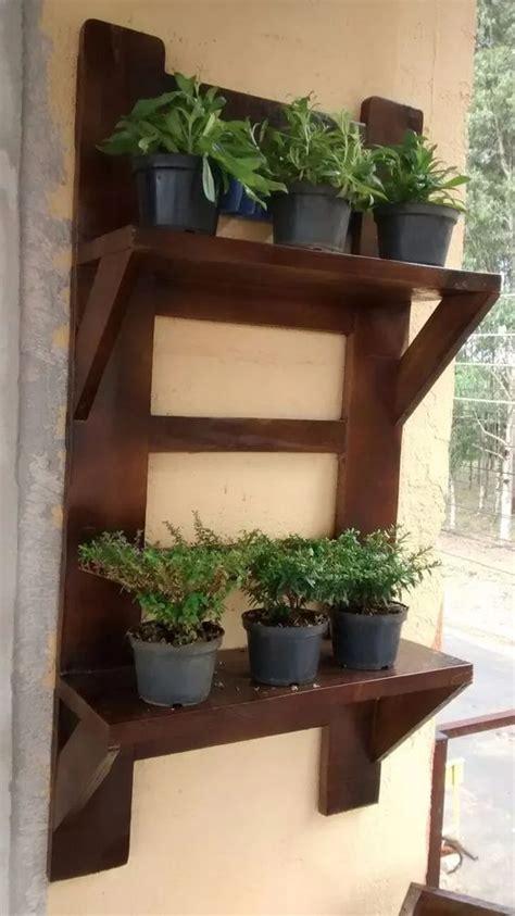 repisas  el jardin como hacer repisas  plantas