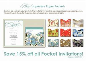 Japanese pocket style wedding invitations studio twenty for Studio 7 wedding invitations